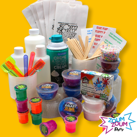 NEW Slime DIY party box