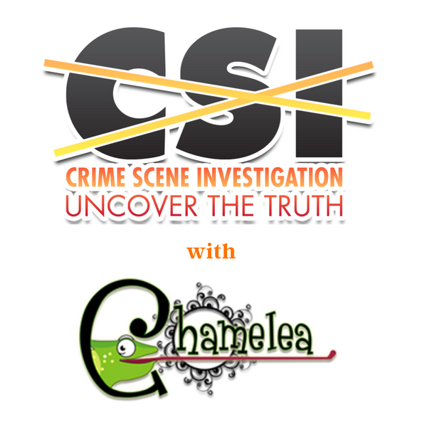 Crime Scene Investigation Party with Chamelea Science Center by video chat