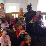 Batman at-home Birthday Party with Anthony