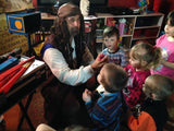 Magic Jack the Pirate Magician Birthday Party (5 to 12 years old)