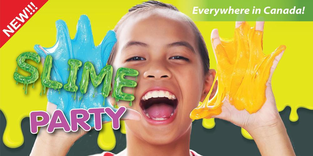 At-home Slime birthday party