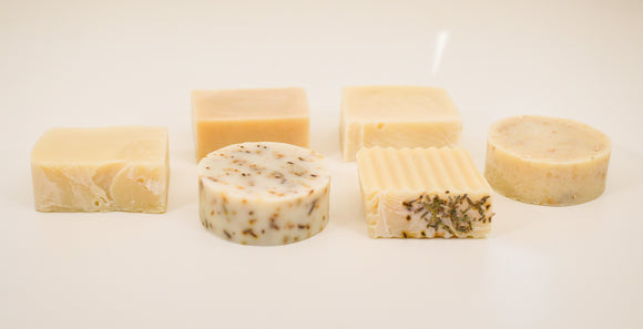 handmade, natural, essential oil soap