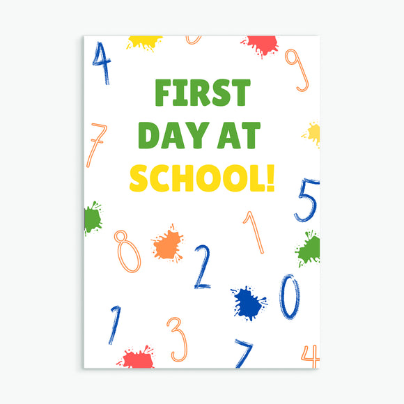 First Day at School!