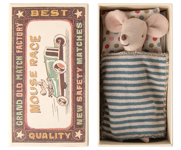 Big Brother Mouse in Matchbox - by Maileg
