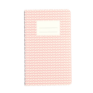 Small Pink Abstract Notebook