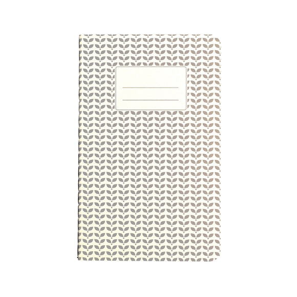 Small Grey Abstract Notebook