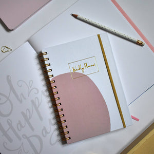 Weekly Desk Planner & Journal