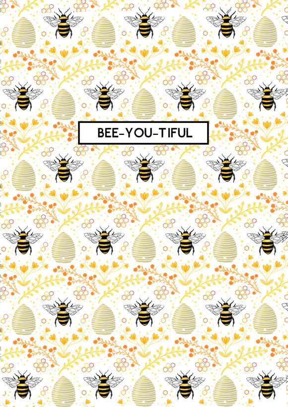 Bee-you-tiful A6 Card
