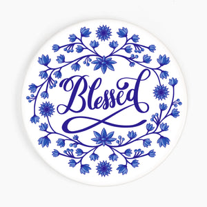 Blessed Ceramic Coaster