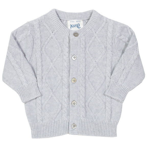 My First Cardi - grey