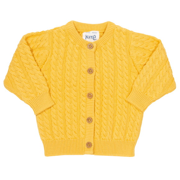 My First Cardi - yellow