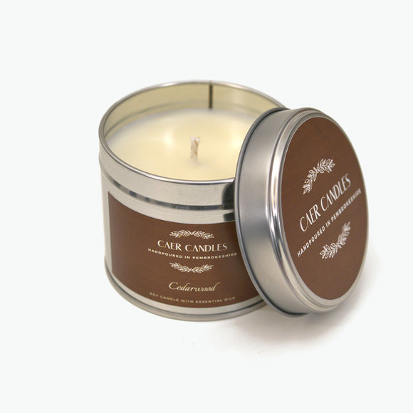Cedarwood - Natural Candle