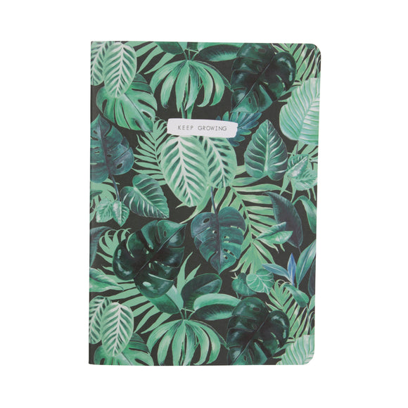 Botanical Jungle A5 Notebook