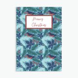 Pack of 10 Christmas Cards - Pattern Merry Christmas