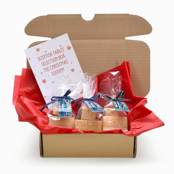 Campbells Scottish Tablet CHRISTMAS Selection Box