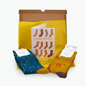 Women's Warm Wishes Socks Box