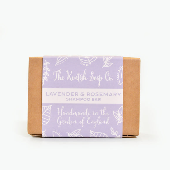 Lavender & Rosemary Shampoo Bar