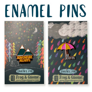 Pack of 2 Enamel Pins