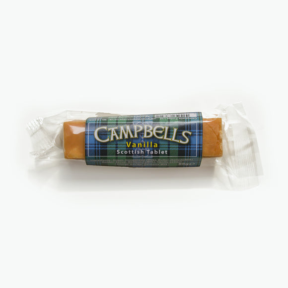 Campbells Vanilla Scottish Tablet Bar