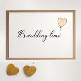 It's wedding time - Greetings Card