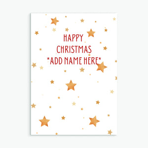 HAPPY CHRISTMAS *PERSONALISE*