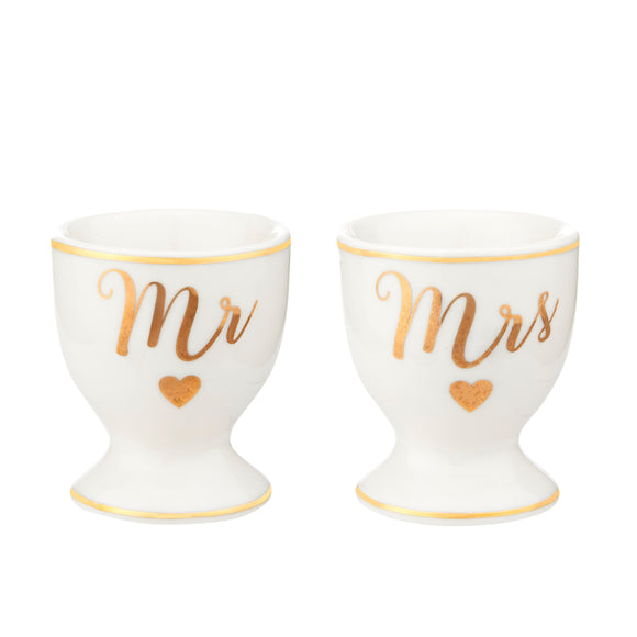 MR & MRS EGG CUPS