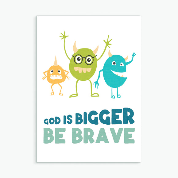 God is bigger