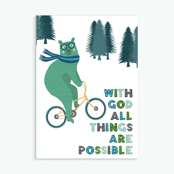 All things are possible - bear