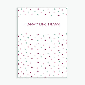 Dotty Birthday Plum
