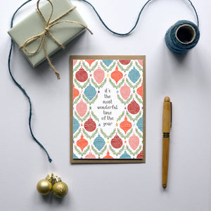 The most wonderful time - Christmas Card