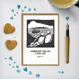 Customisable Puffin Card / Print