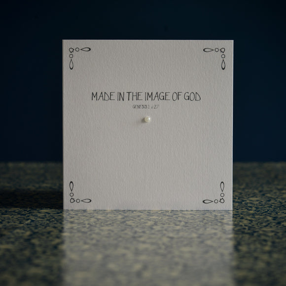 Greetings card - 'MADE IN THE IMAGE OF GOD'