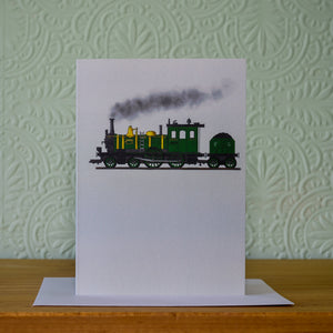 Greetings card - 'Steam Train'