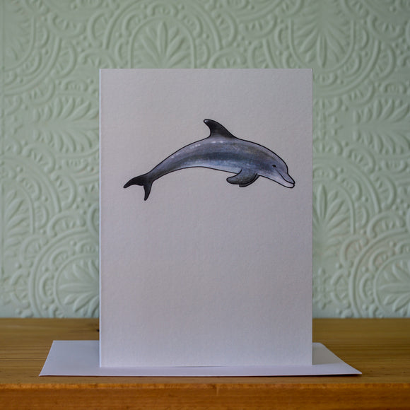 Greetings card - 'Dolphin'