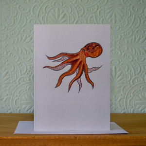 Greetings card - 'Octopus'