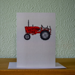 Greetings card - 'Tractor'
