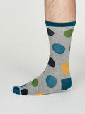 Newton Bamboo Spot Socks For Men