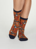 Margery Organic Cotton Flower Socks For Women