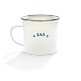 """DAD"" Enamel Mug"