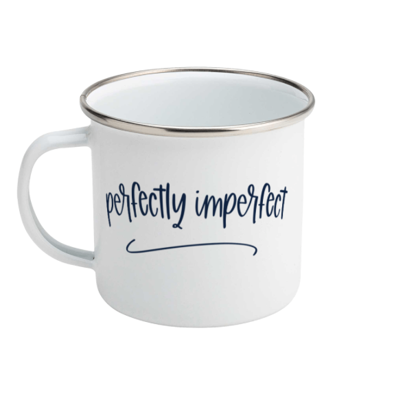 Perfectly imperfect - Enamel Mug