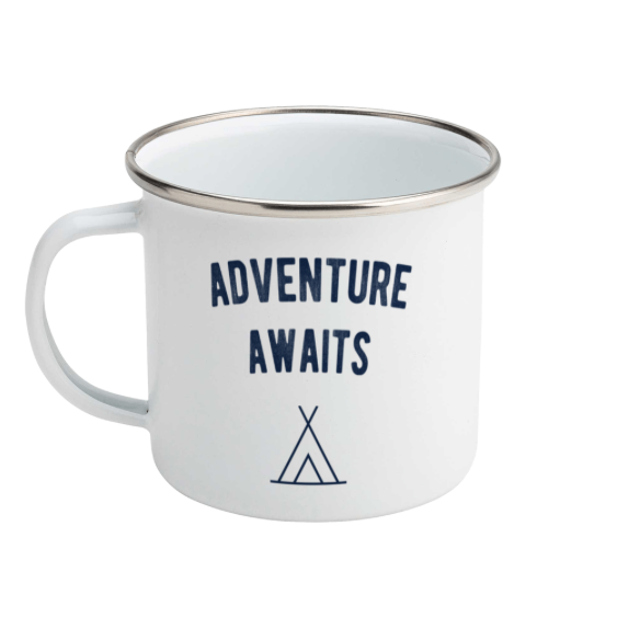Adventure awaits - Enamel Mug