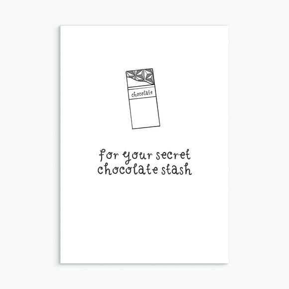 Secret Chocolate Stash