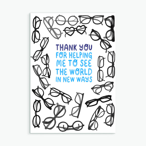 See The World - Greetings Card