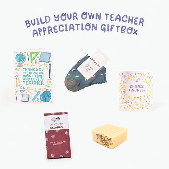 Build-Your-Own Thank You Teacher/Parent Gift Box
