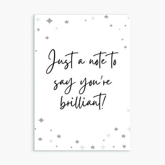 You're Brilliant! - Pack of 16 Mixed Postcards