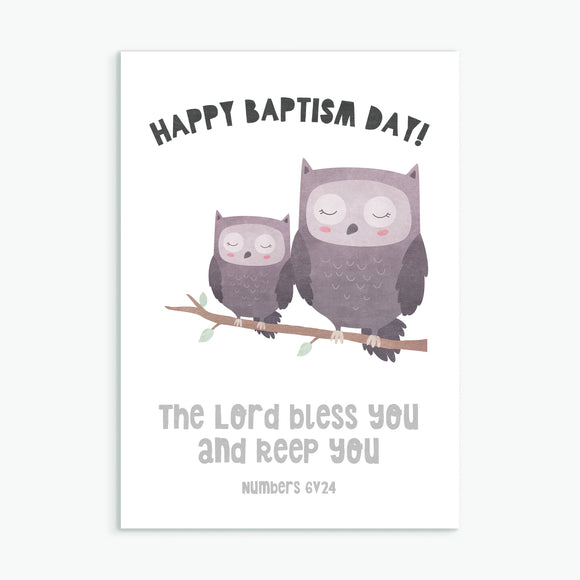 Happy Baptism Day - Greeting Card