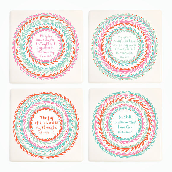Bright Hope for Tomorrow - Ceramic Coasters