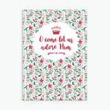 Pack of 10 Christmas Cards - Carol Patterns