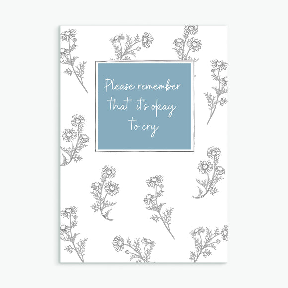 Teardrop Greetings Card