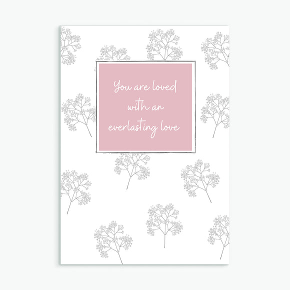 Everlasting Love Greetings Card